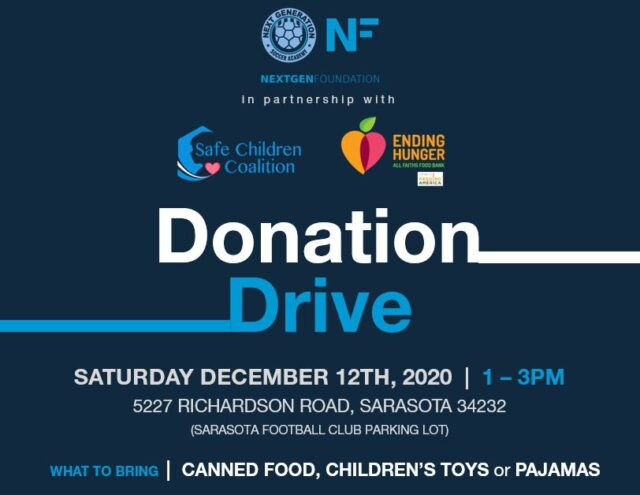 NextGen Partners with Safe Children's Coalition and All Faiths Food Bank